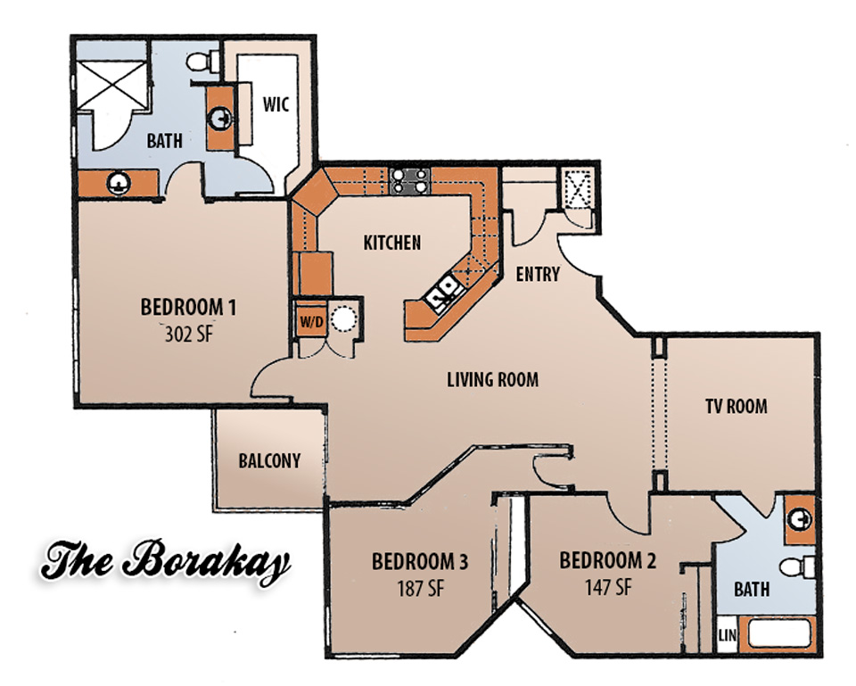 Floor Plans - The Borakay